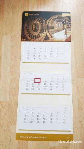 ポーランドのカレンダー文化日常生活