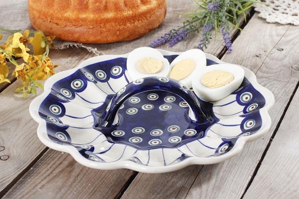 wielkanoc-jajkoポーランドのイースター卵ボレスワヴィエツ陶器