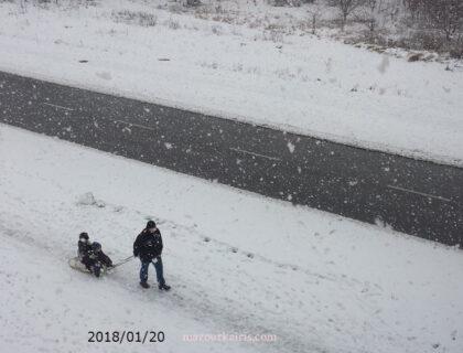 ポーランドの冬ソリでお散歩133933