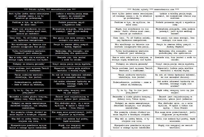 ポーランド語polish-good-quote-sheets-for-collage