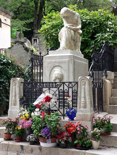 パリのショパンのお墓
